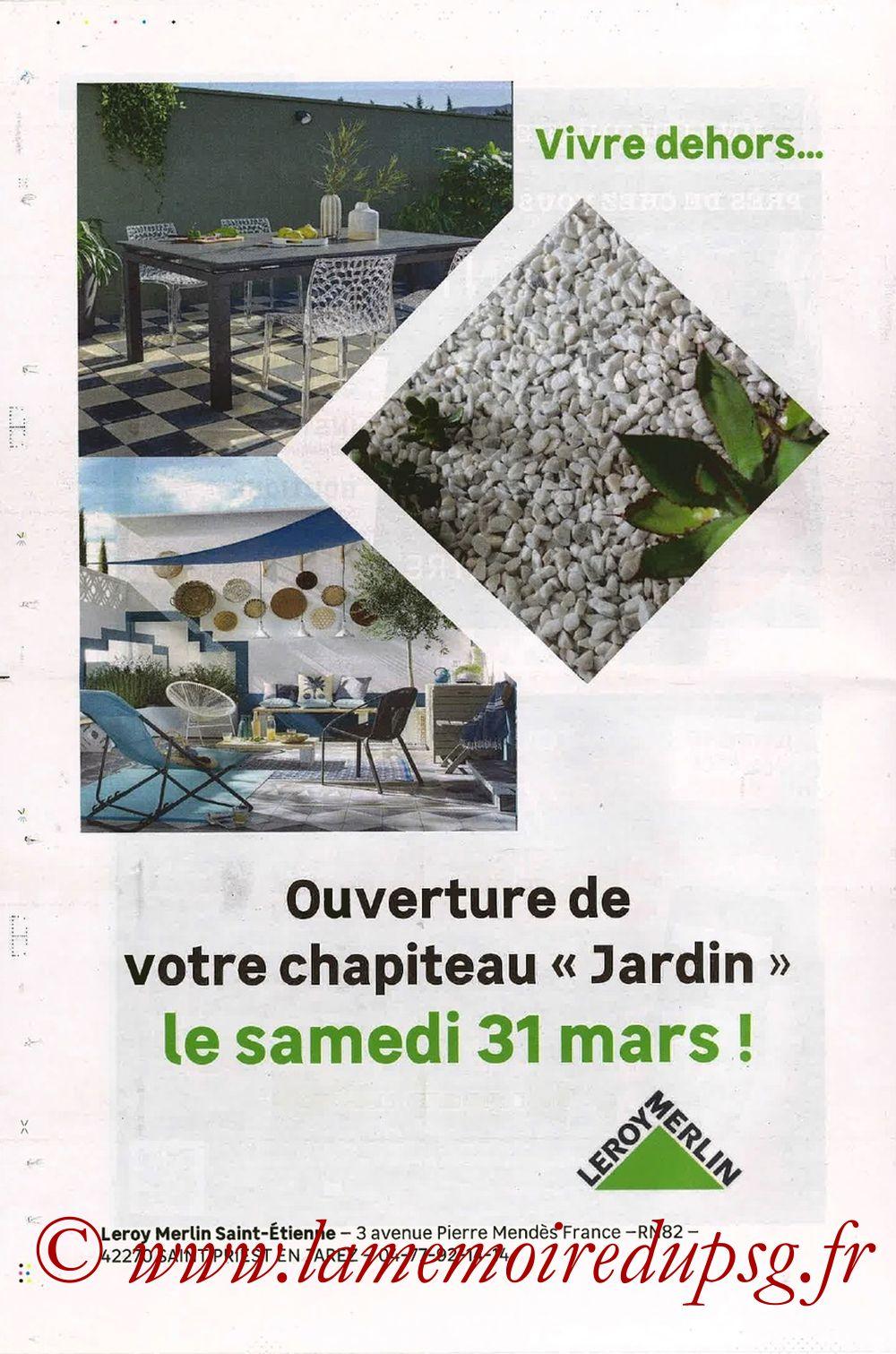 2018-04-06  Saint Etienne-PSG (32ème L1, ASSE Actus) - Page 12