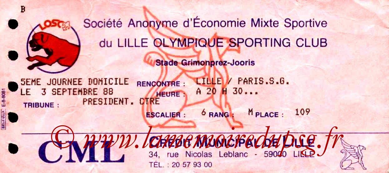 1988-09-03  Lille-PSG (10ème D1)
