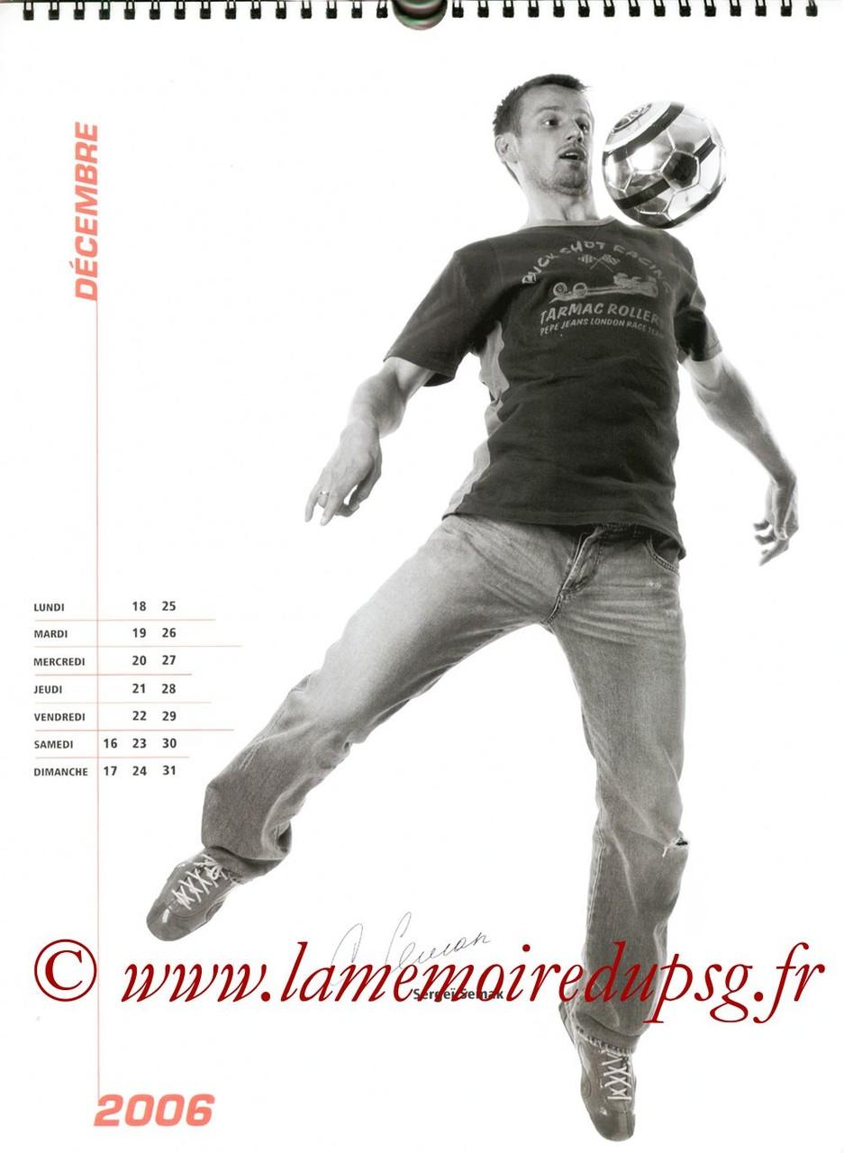 Calendrier PSG 2006 - Page 24 - Sergeï SEMAK
