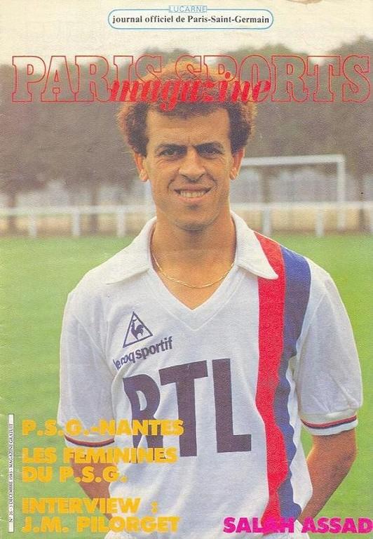 1983-12-03  PSG-Nantes (21ème D1, Paris Sports Magazine N°26)