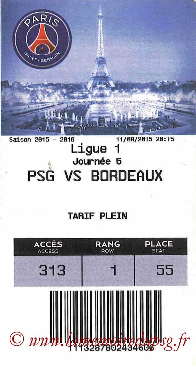 2015-09-11  PSG-Bordeaux (5ème L1 E-Ticket)