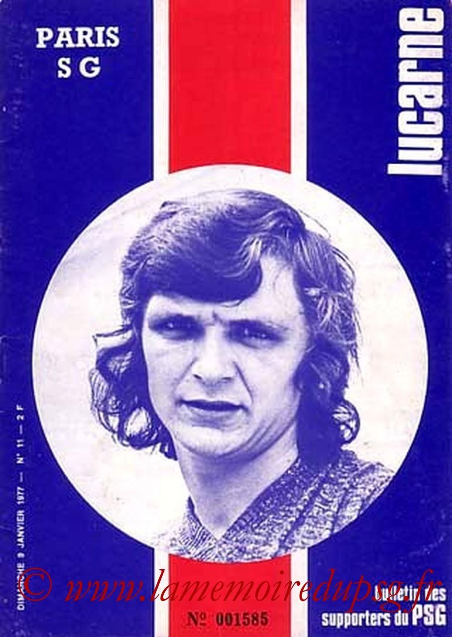 1977-01-09  PSG-Nice (20ème D1, Lucarne N°11)