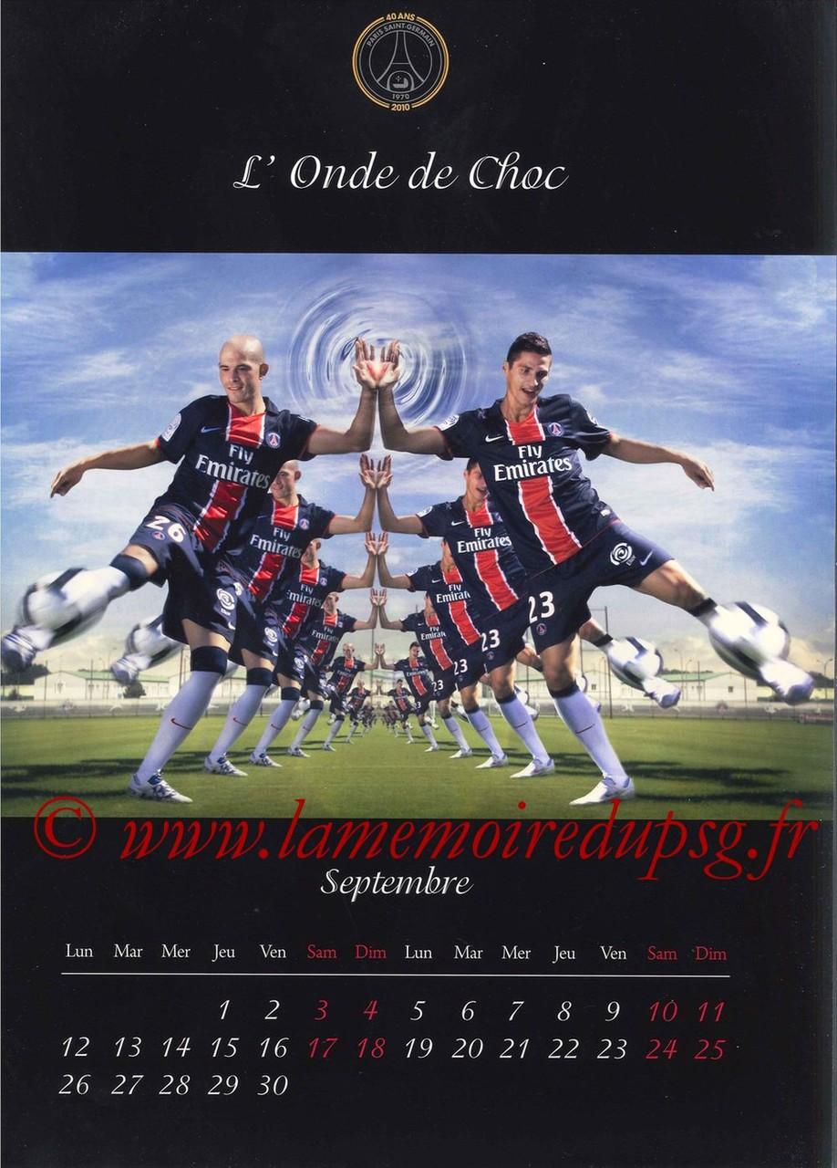 Calendrier PSG 2011 - Page 17 - L'Onde de Choc