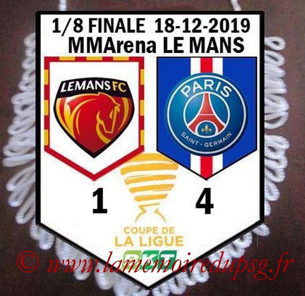 2019-12-18  Le Mans-PSG (8eme CL)