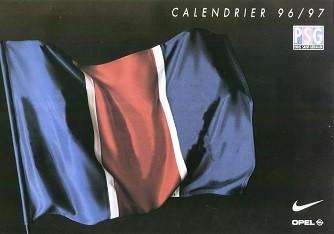 Calendrier PSG 1996-97