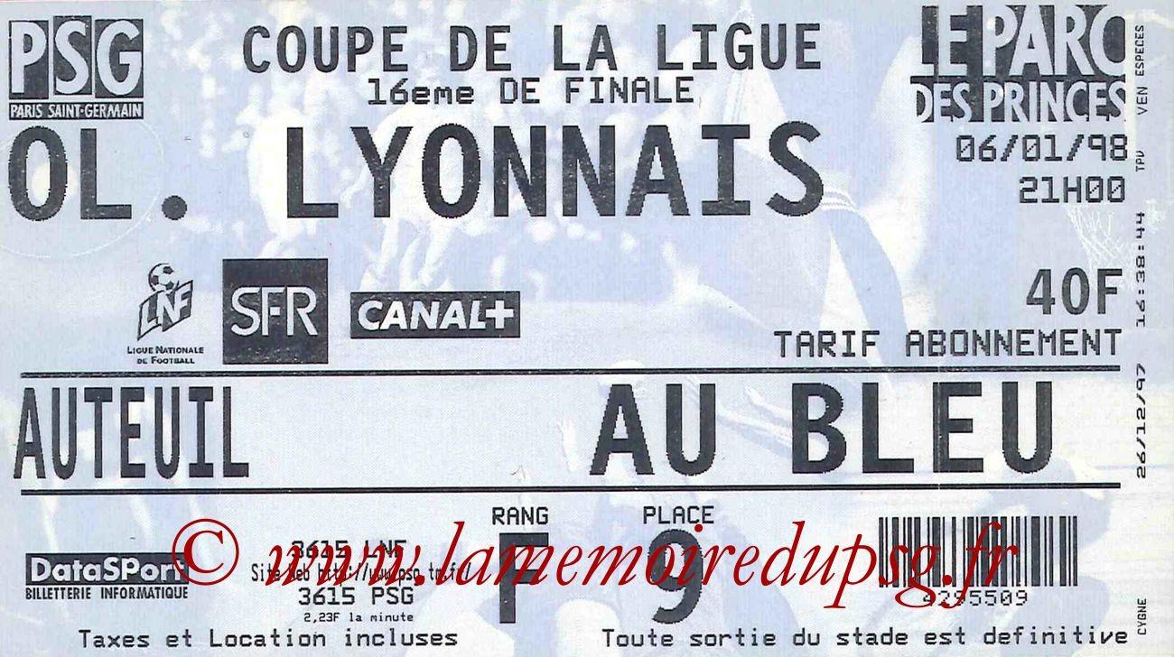 1998-01-06  PSG-Lyon (16eme Finale CL)