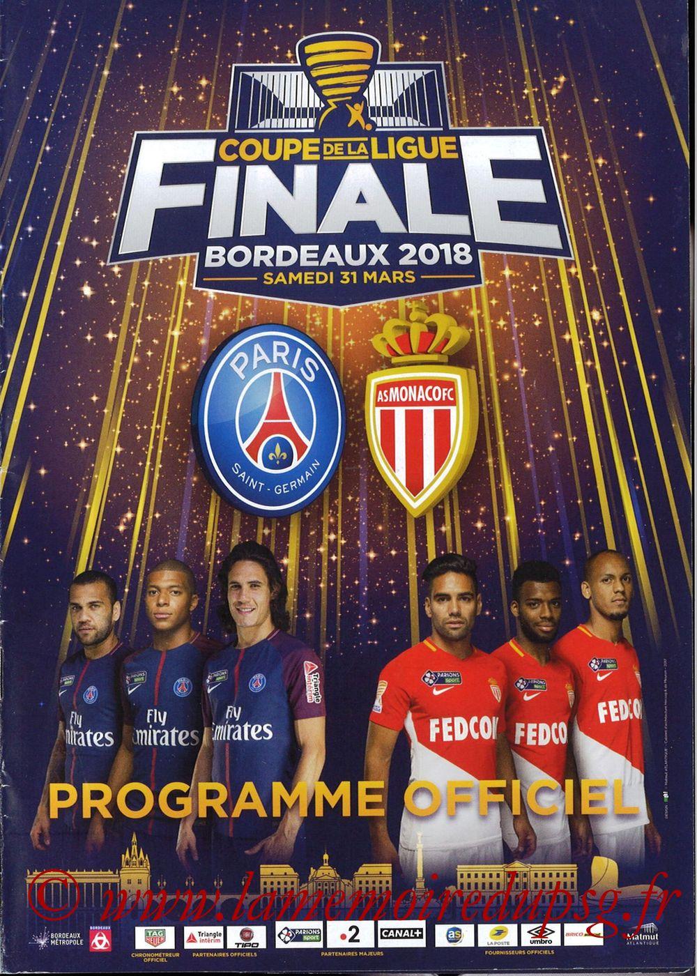 2018-03-31  PSG-Monaco (Finale CL à Bordeaux)
