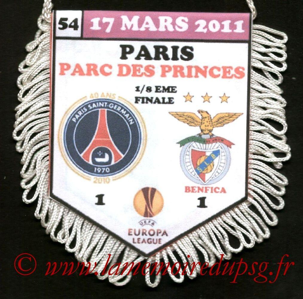 2011-03-17  PSG-Benfica (8ème Finale Retour C3)