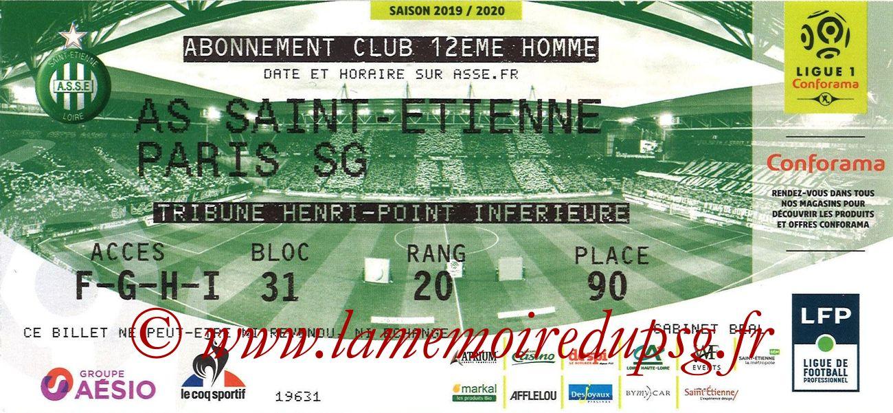 2019-12-15  Saint Etienne-PSG (18ème L1)