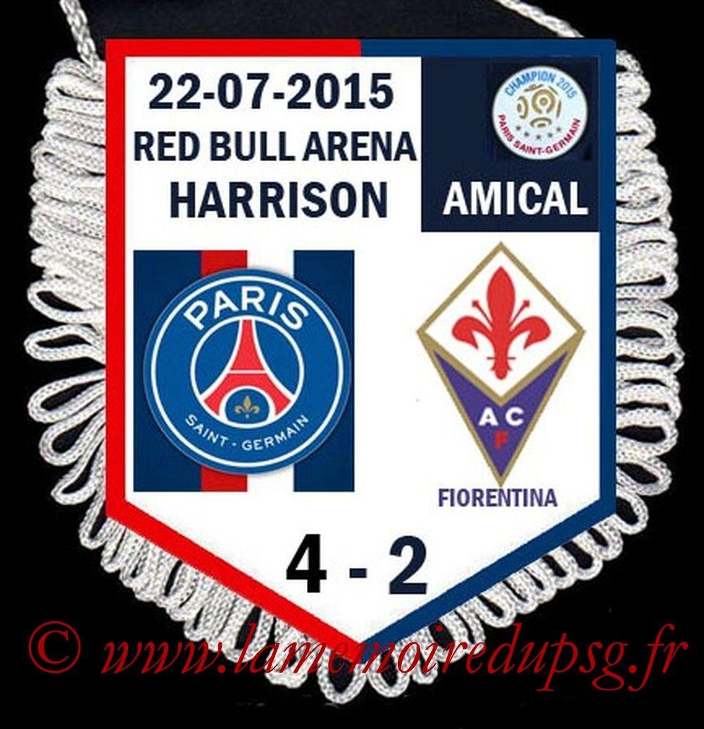 2015-07-22  PSG-Fiorentina (Amical à Harrison)