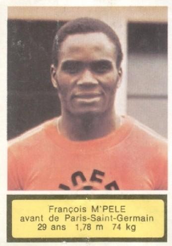 N° 218 - Francois M'PELE