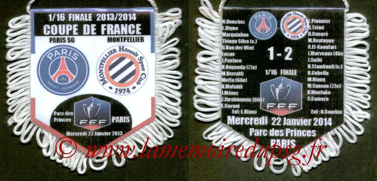 2014-01-22  PSG-Montpellier (16ème CF)