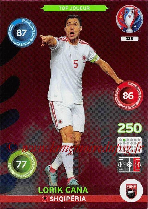 N° 338 - Lorik CANA (2000-Août 05, PSG > 2016, Albanie) (Top Joueur)