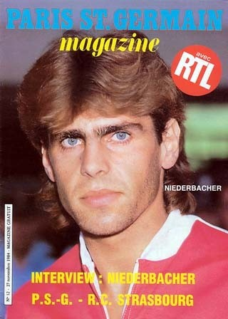 1984-11-27  PSG-Strasbourg (16ème D1, Match en retard, Paris SG Magazine N°12)