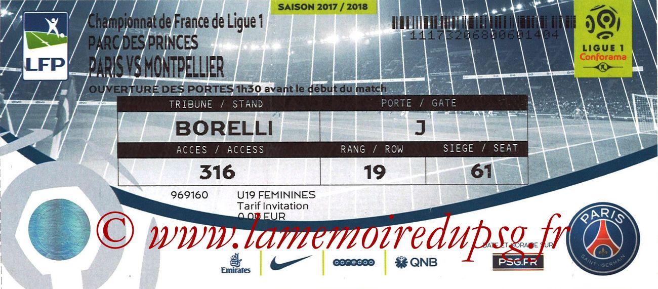 2018-01-27  PSG-Montpellier (23ème L1 bis)