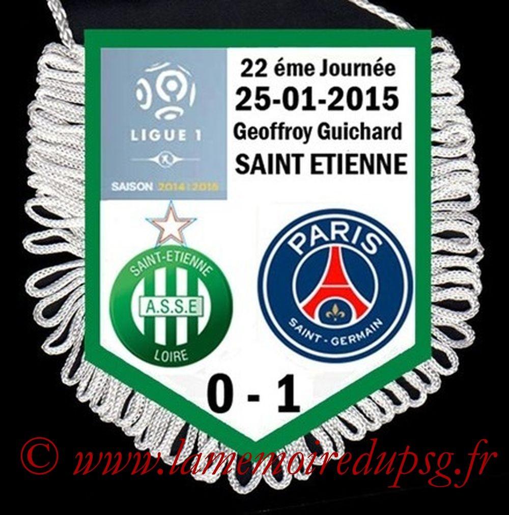 2015-01-25  Saint Etienne-PSG (22ème L1)