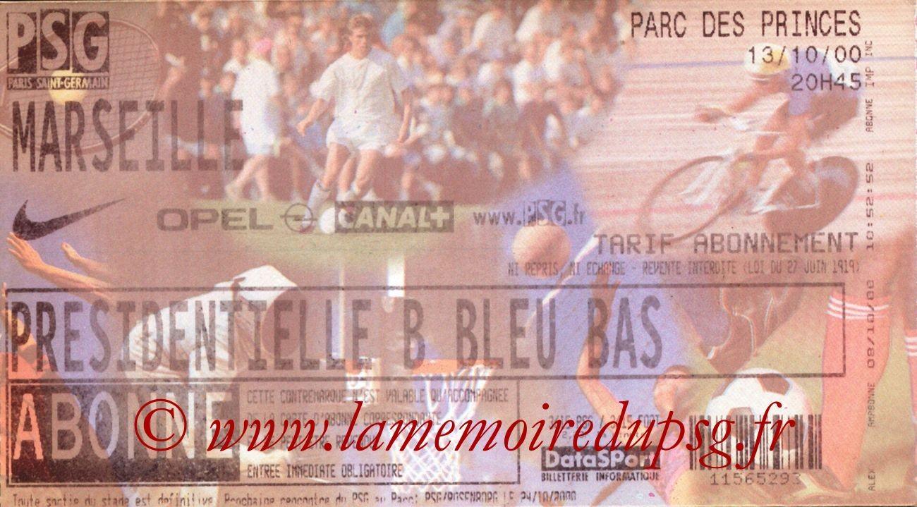 2000-10-13  PSG-Marseille (11ème D1)