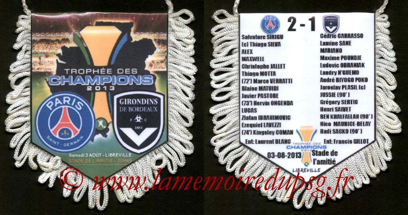 2013-08-03  PSG-Bordeaux(Trophée des Champions à Libreville avec compo)