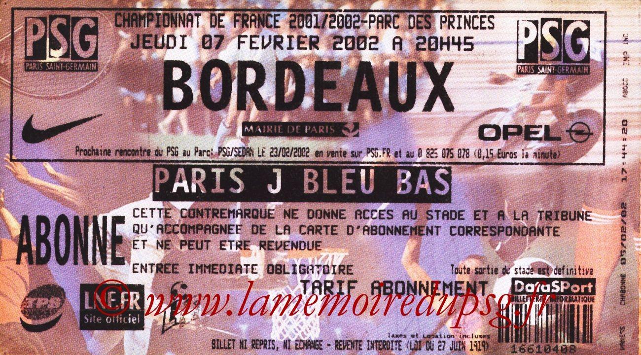 2002-02-07  PSG-Bordeaux (25ème D1)
