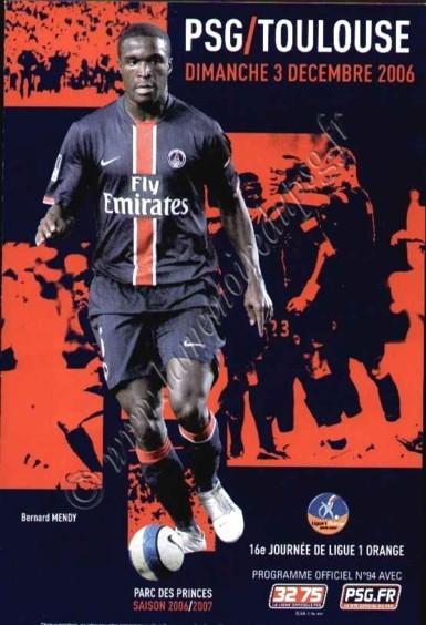 2007-01-17  PSG-Toulouse (16ème L1 match en retard, Officiel N°94)