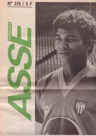 1988-04-02  Saint Etienne-PSG (30ème D1, ASSE Actualites N°216)bis