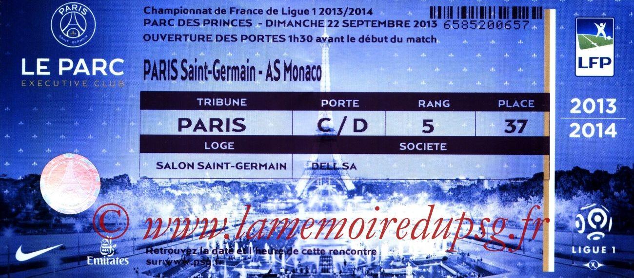 2013-09-22  PSG-Monaco (6ème L1, Loge)