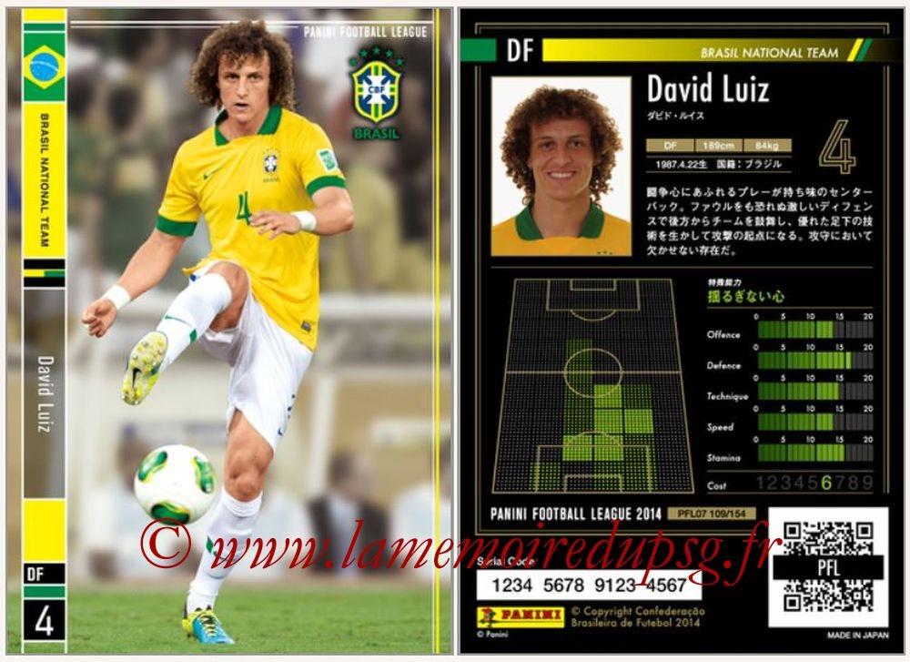 N° 109 - David LUIZ (2013-14, Brésil > 2014-??, PSG)