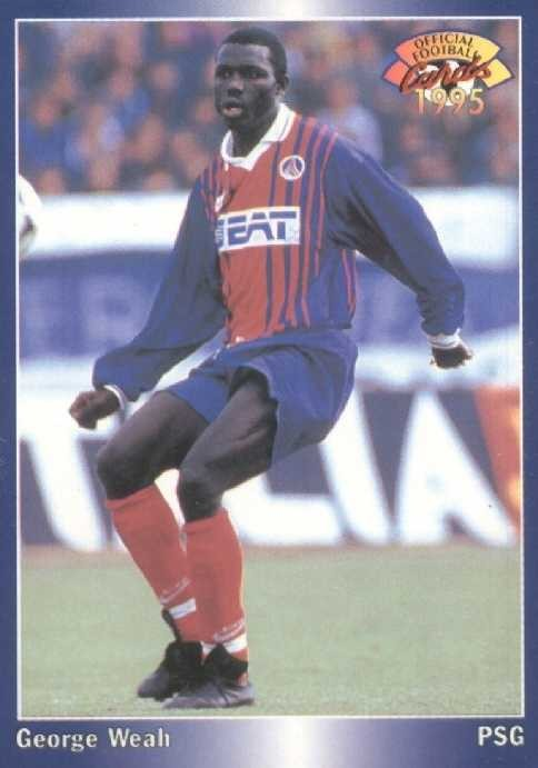 N° 157 - George WEAH (Recto)