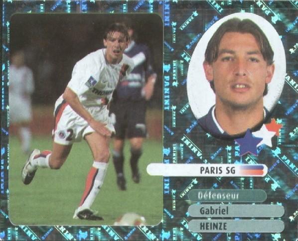 N° 374 - Gabriel HEINZE - Stars du Foot