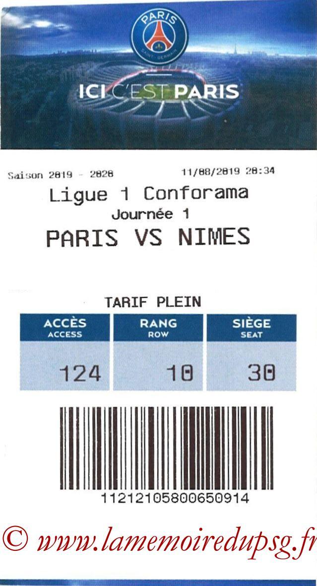 2019-08-11  PSG-Nîmes (1ère L1, E-ticket)