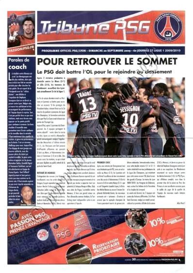 2009-09-20  PSG-Lyon (6ème L1, Tribune PSG)