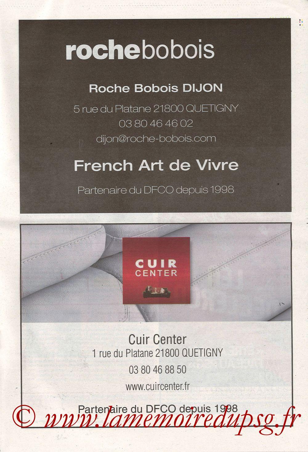 2019-03-12  Dijon-PSG (18ème L1 en retard, Chouett'Infos) - Page 03