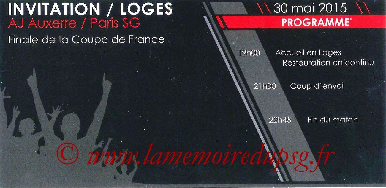 2015-05-30  Auxerre-PSG (Finale CF à Saint-Denis, Loges)