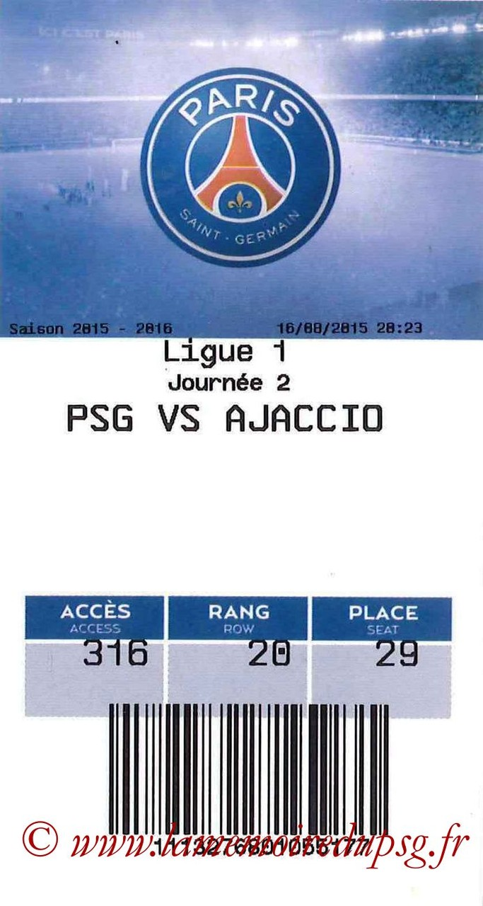 2015-08-16  PSG-Gazelec Ajaccio (2ème L1, E-ticket)