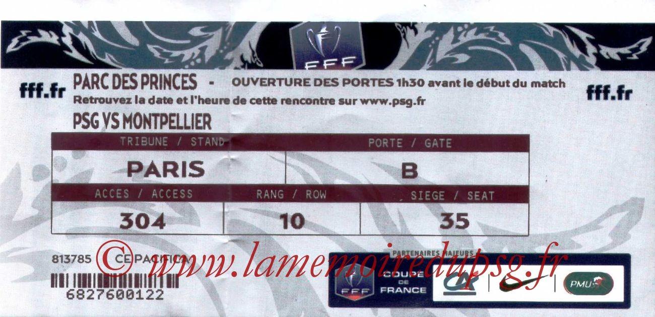 2014-01-22  PSG-Montpellier (16ème Finale CF)