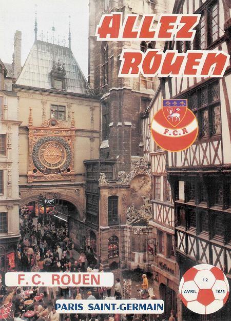 1985-04-12  Rouen-PSG (32ème D1, Allez Rouen)