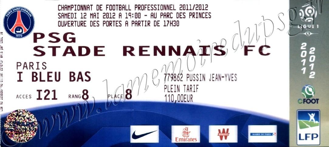 2012-05-13  PSG-Rennes (37ème L1)