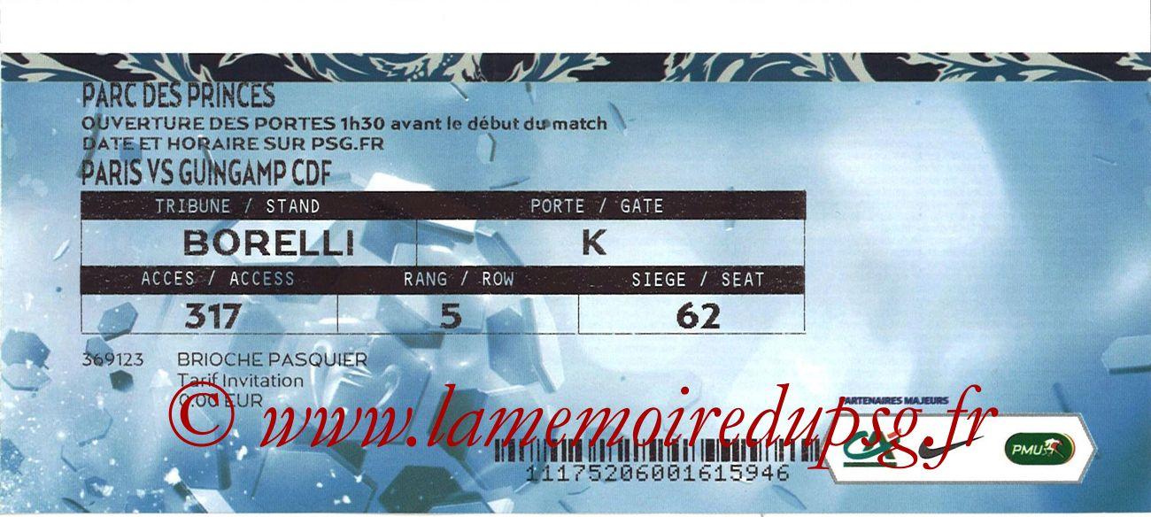 2018-01-24  PSG-Guingamp (16ème CF)