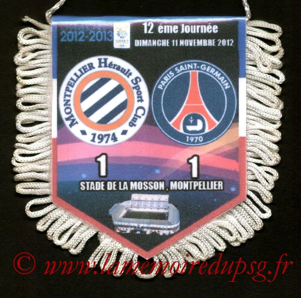 2012-11-11  Montpellier-PSG (12ème L1)