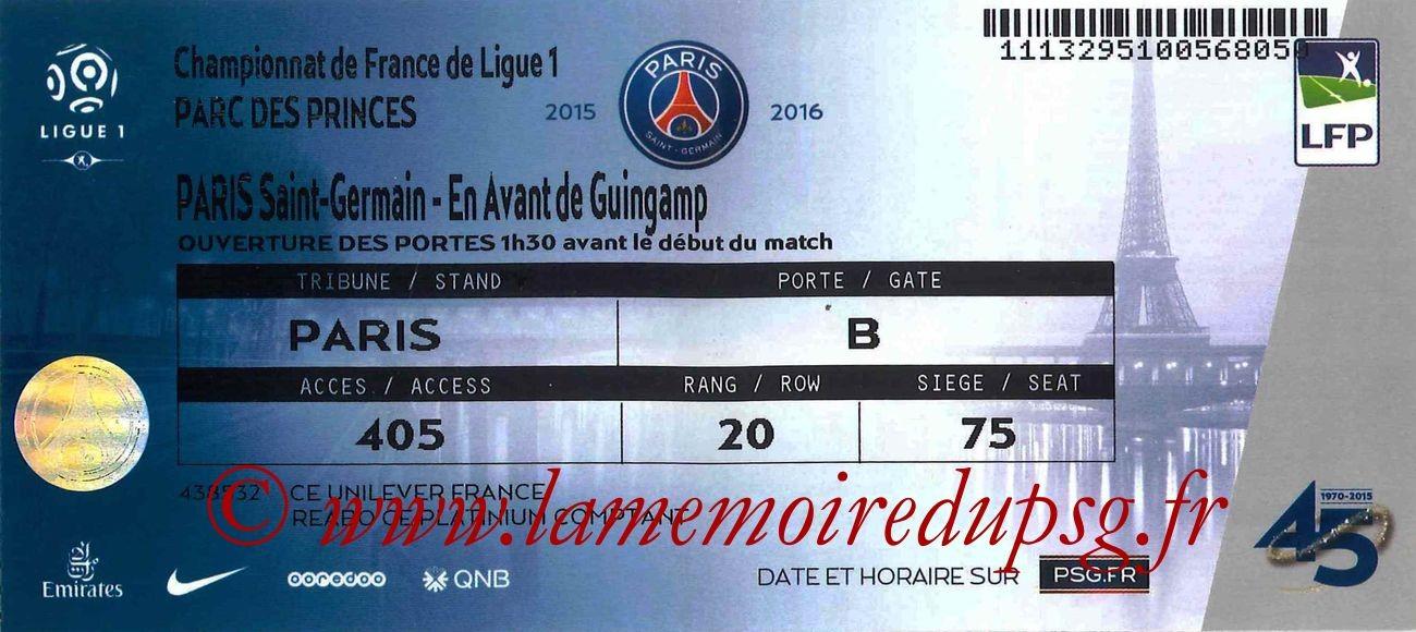 2015-09-22  PSG-Guingamp (7ème L1 bis)