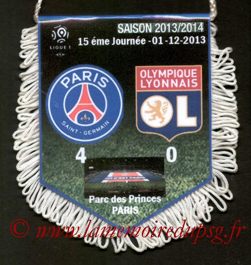 2013-12-01  PSG-Lyon (15ème L1)