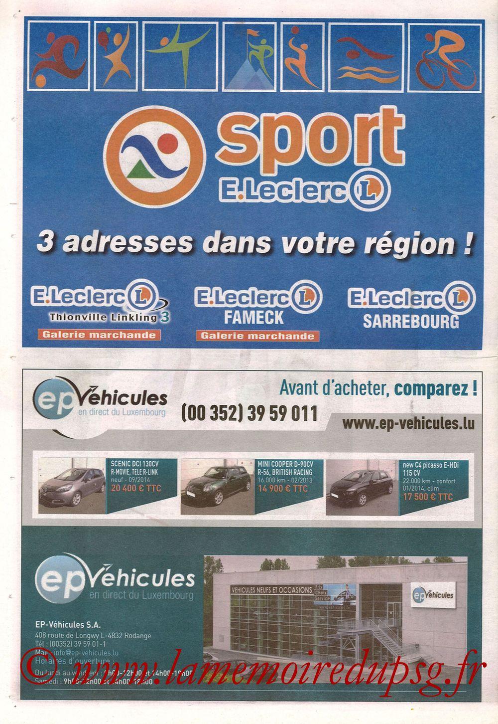 2014-11-21  Metz-PSG (16ème L1, Le Républicain Lorrain) - Page 08