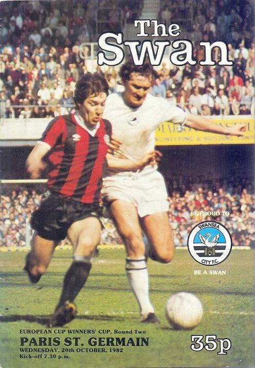 1982-10-20  Swansea-PSG (8ème Finale Aller C2, The Swan)