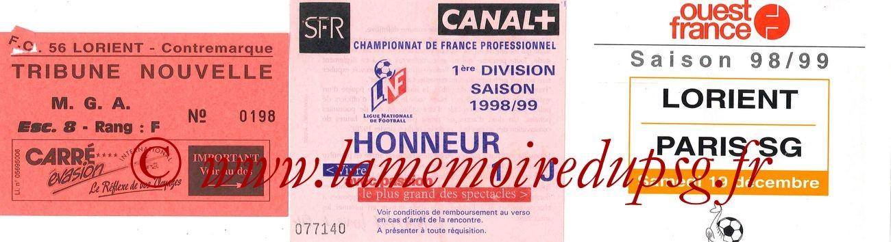 1998-12-19  Lorient-PSG (20ème D1)