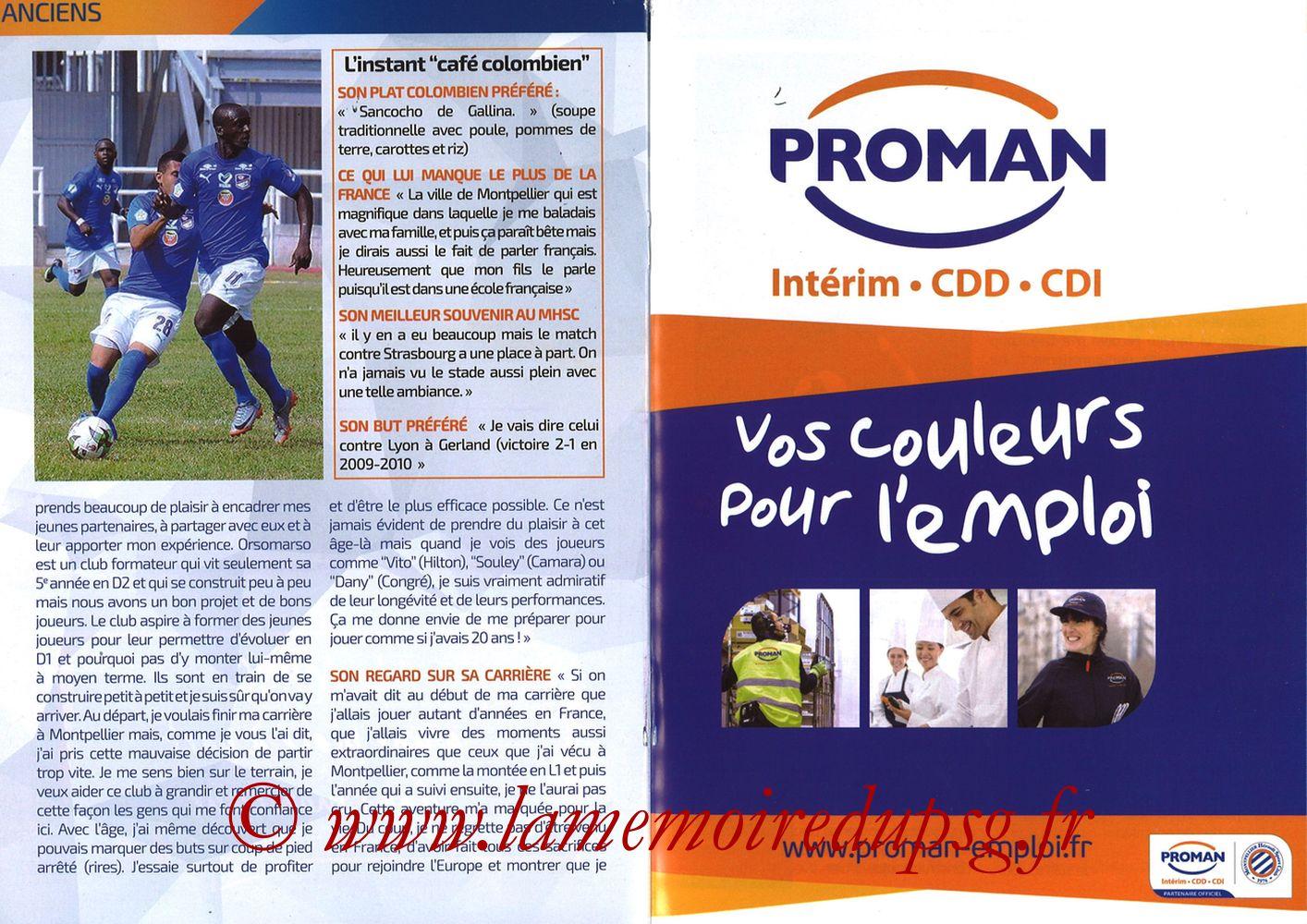 2019-04-30  Montpellier-PSG (34ème L1, L'Echo de la Mosson N°17) - Pages 20 et 21