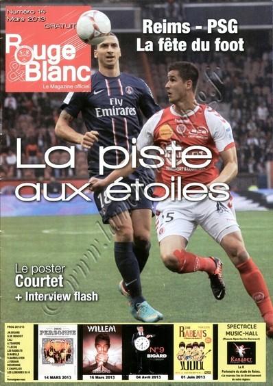 2013-03-02  Reims-PSG (27ème L1, Rouge & Blanc N°14)
