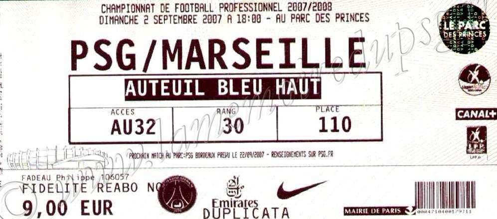 2007-09-02  PSG-Marseille (7ème L1)