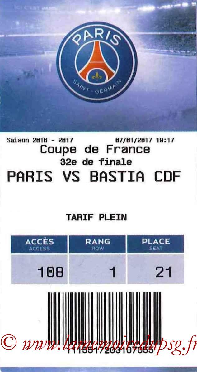 2017-01-07  PSG-Bastia (32ème CF, E-ticket)