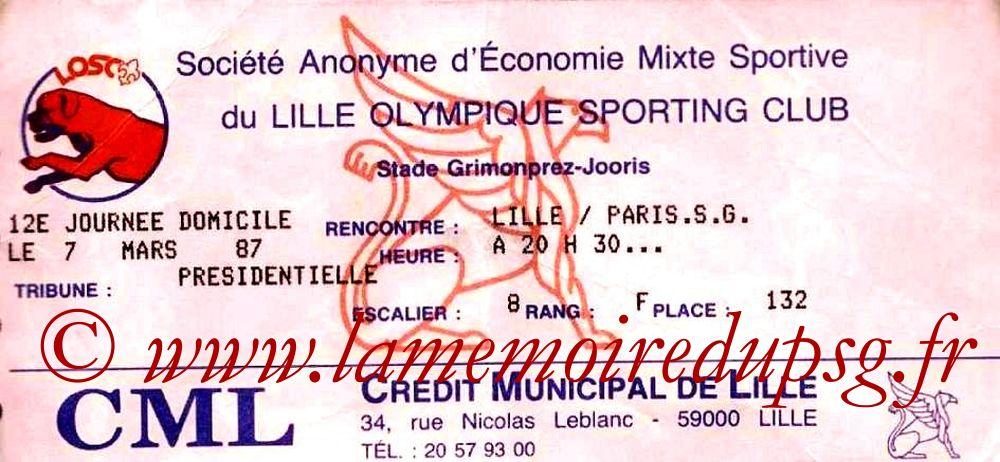 1987-03-07  Lille-PSG (25ème D1)