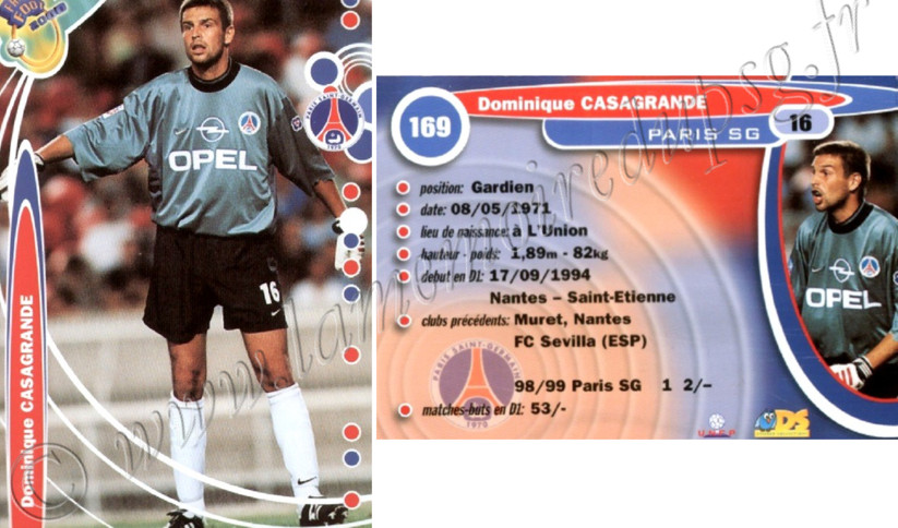 N° 169 - Dominique CASAGRANDE